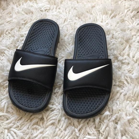 Classic Nike slides size 9